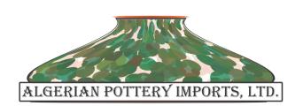 Algerian Pottery Imports