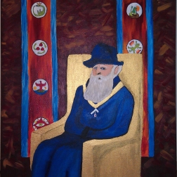 Prince Kulor's Painting of the Professor at his Confirmation (After Pissarro)