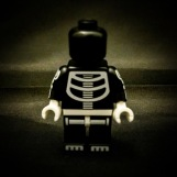 A reader has recently written in with the insinuation that Skitterybones is not a 'proper' skeleton; that he is in fact just wearing a skeleton costume. At this point it seems fruitless to remind our readership that this is a work of fiction, and that ALL the actors are wearing costumes. Instead we asked Skitterybones to take his mask off. The result is frankly horrifying. We are sorry our reader ever asked, and sincerely hope he is too.