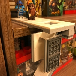 I'm not happy with the white tiles or the action of the pit trap door, so off to BrickLink for parts!!